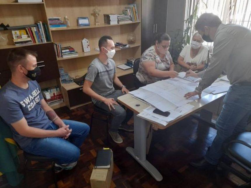 Cronograma de obras é estabelecido com a engenharia de Imbituva, para realização de melhorias nas estruturas de Escolas e CMEIs