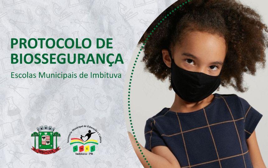 Protocolo de Biossegurança - Escola Municipal Maria Olivia Alves Pontarolo
