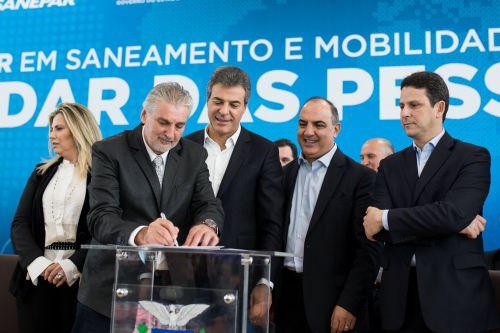 R$ 5,1 milhões para ampliação da rede de esgoto de Imbituva