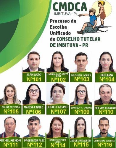 Imbituva tem 14 candidatos ao Conselho tutelar