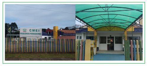 """CENTRO MUNICIPAL DE EDUCAÇÃO INFANTIL """"PEQUENOS PENSADORES"""""""