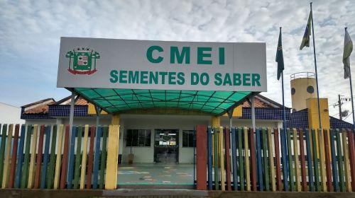 """CENTRO MUNICIPAL DE EDUCAÇÃO INFANTIL """" SEMENTES DO SABER"""""""