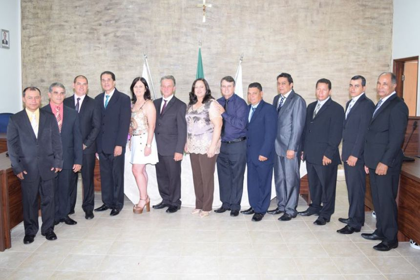 POSSE DO EXECUTIVO E LEGISLATIVO MUNICIPAL DE SÃO PEDRO DO PARANA.