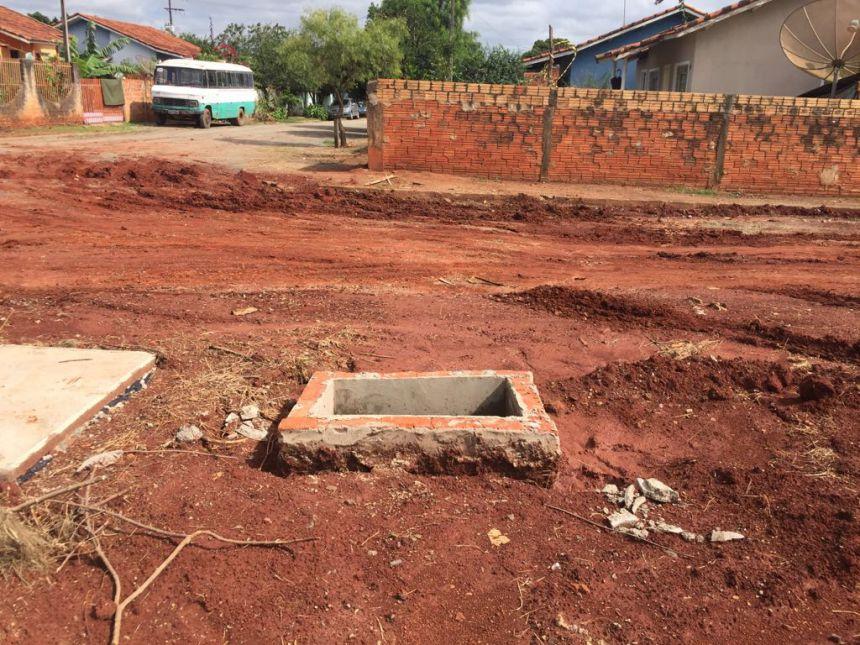 Prefeitura inicia obras de pavimentação no Bairro Vista Alegre