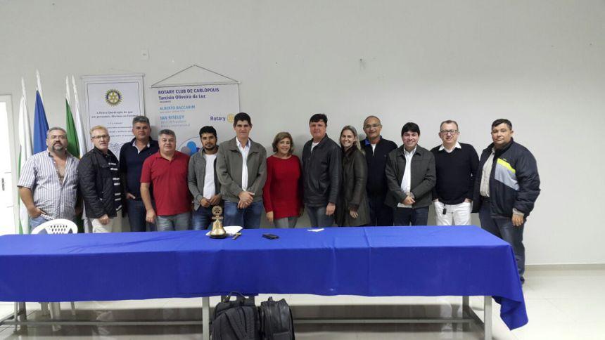 Videoconferência no Rotary Club de Carlópolis