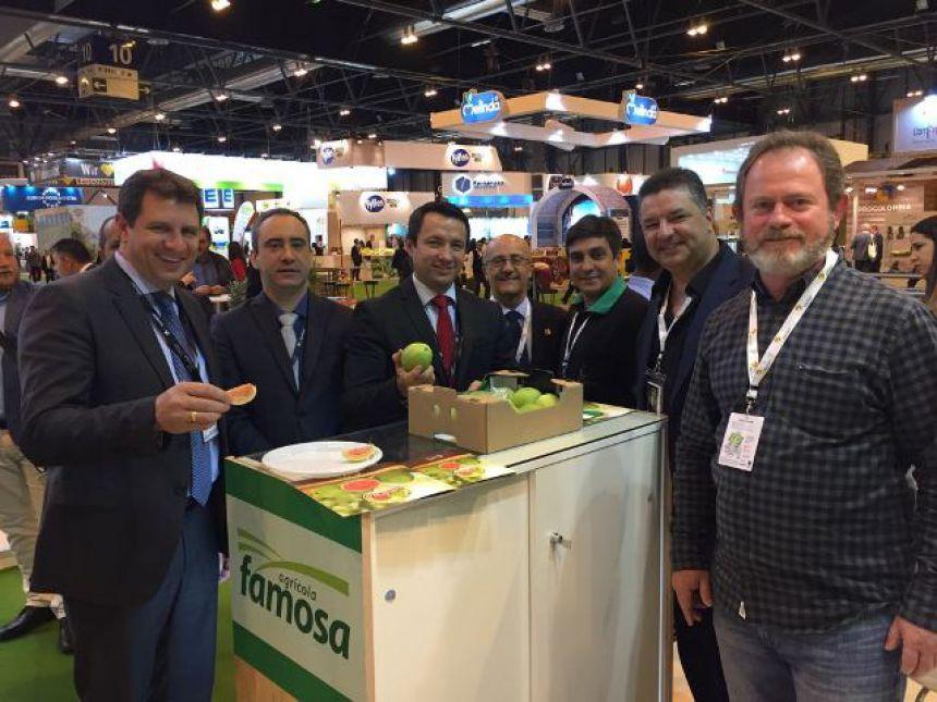 APC participando de degustação da Goiaba de Carlópolis na Espanha
