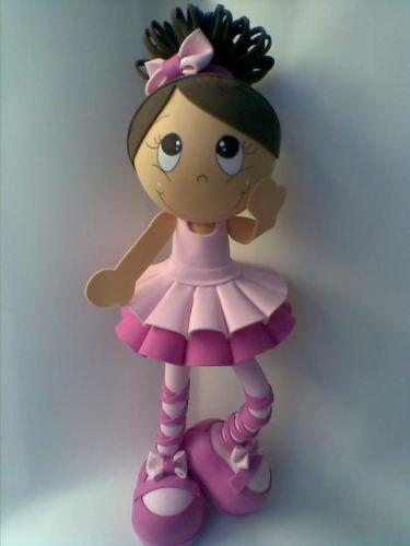Bonecas em EVA 3D