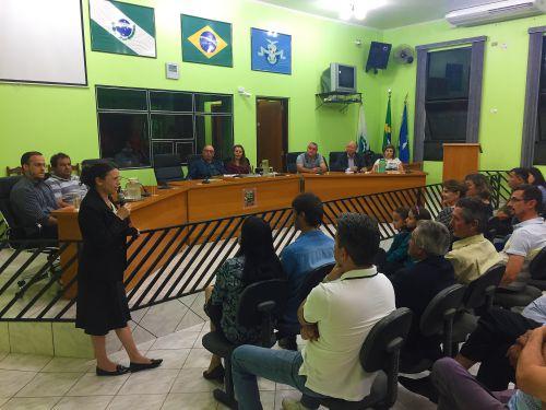 Reunião na Câmara Municipal discute segurança pública