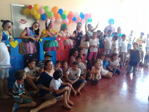 Dia das crianças é comemorado no Projeto Social Clube Irmão Caçula