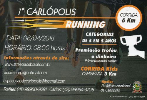 1º Carlópolis Running