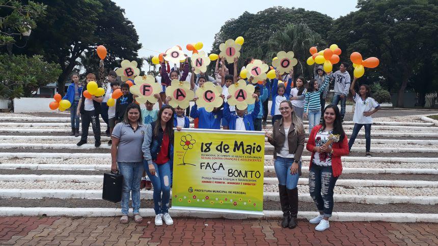 PEROBAL REALIZA CAMPANHA CONTRA O ABUSO E A EXPLORAÇÃO SEXUAL DE CRIANÇAS E ADOLESCENTES