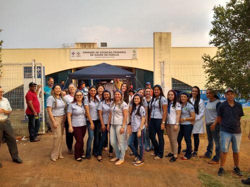 CAMPANHA AGOSTO AZUL EM PEROBAL 2019
