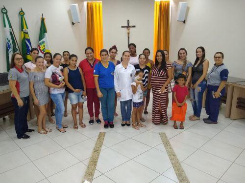 REUNIÃO DE GESTANTES