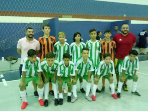 Perobal conquista  Copa talento de futsal