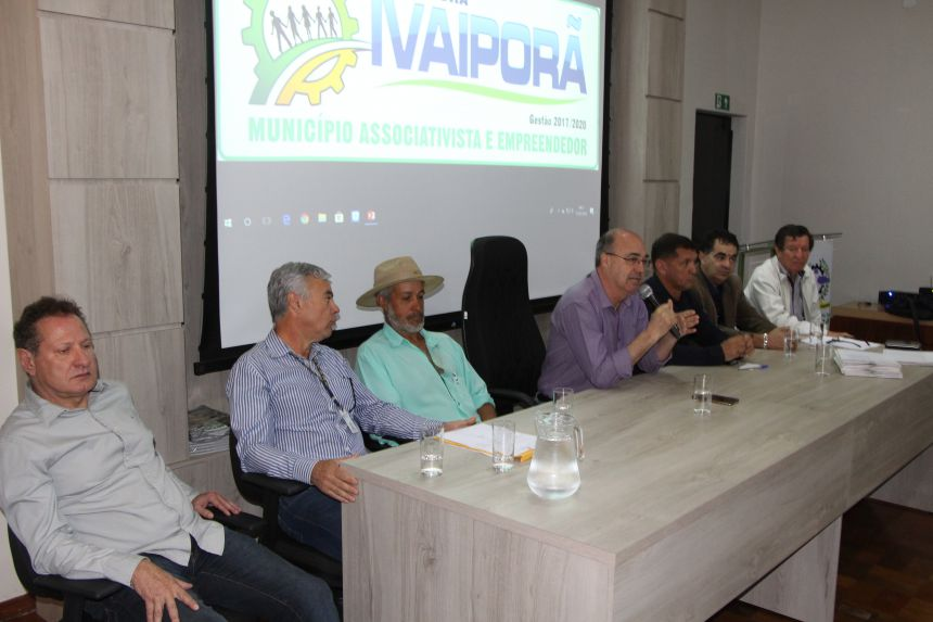 Prefeitura de Ivaiporã apresenta novo projeto da Patrulha Rural para estradas do município
