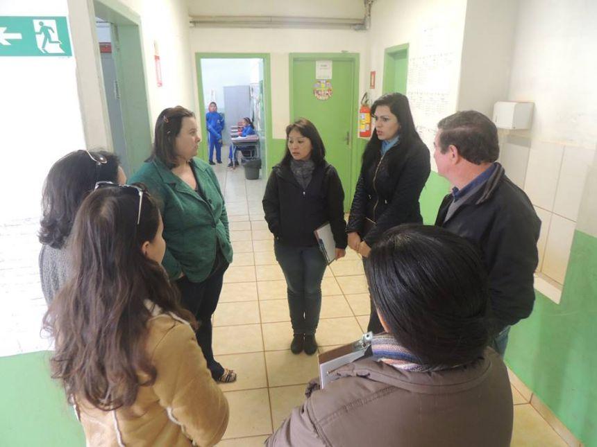 Hoje a equipe do Ivaiporã em Ação esteve no Distrito de Santa Bárbara fazendo uma visita técnica.