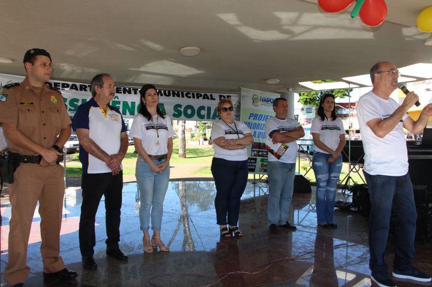 Prefeito Miguel Amaral enaltece parceria com instituições em prol da vida