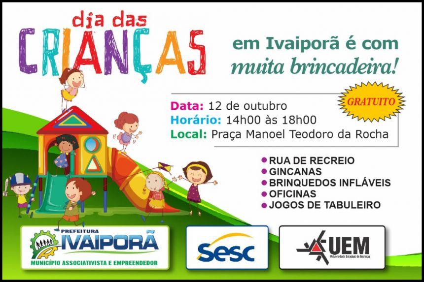 Prefeitura de Ivaiporã organiza preparativos para celebrar Dia das Crianças