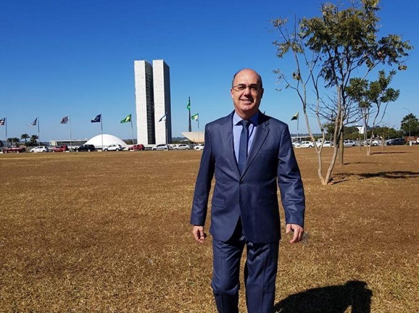 Miguel Amaral cumpre agenda em Brasília em prol do município de Ivaiporã.