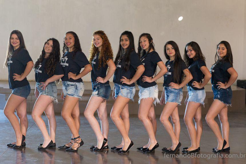 Candidatas do concurso Rainha do Café têm entre 12 e 16 anos