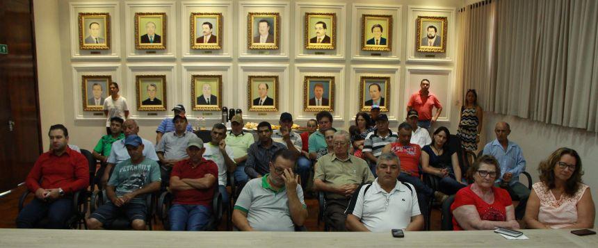 Agricultores da região marcam presença