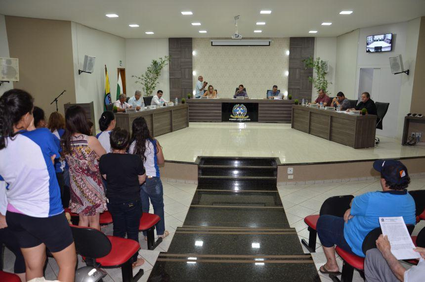 C�mara de Vereadores vota Projeto de Lei 153/2016 (6x2 votos)