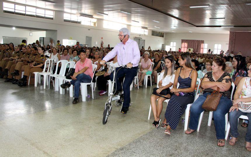 Ainor Lotério associa algumas técnicas do ciclismo com a os desafios diários que a vida impõe