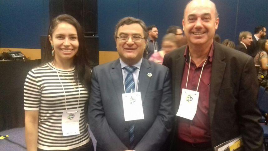Prefeito de Ivaiporã participa de Encontro Paranaense de Gestores Municipais de Saúde, em Curitiba