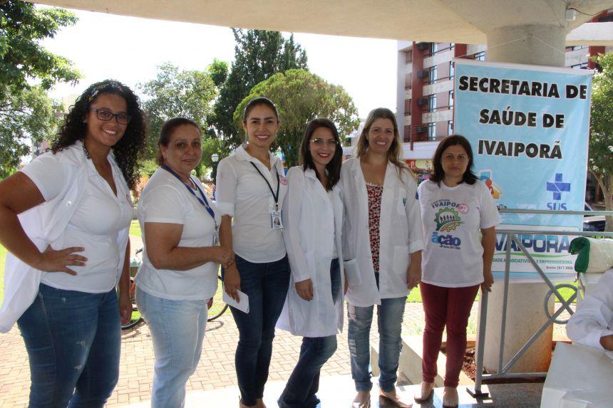 Equipe de saúde da Prefeitura faz 270 exames de HIV e sífilis