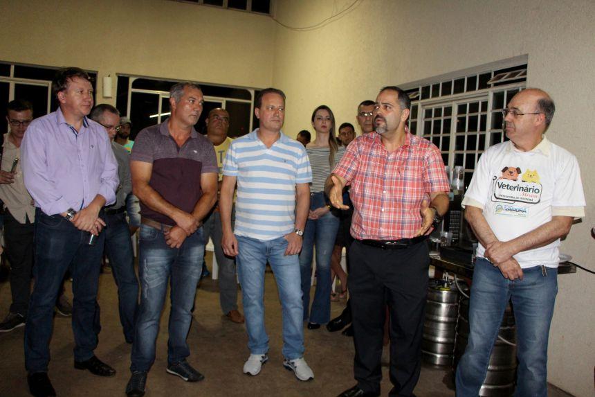 Prefeito de Ivaiporã e lideranças recebem deputado estadual Artagão Júnior