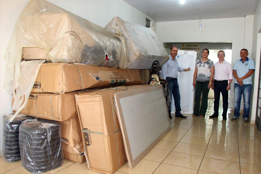 Prefeitura de Ivaiporã entrega equipamentos ao Hospital Municipal