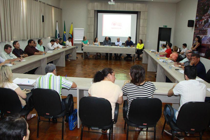 Clodoaldo Santos, presidente do Consórcio Intermunicipal de Saúde (CIS) da 22ª Regional de Saúde de Ivaiporã, comenta sobre benefícios do Samu 192
