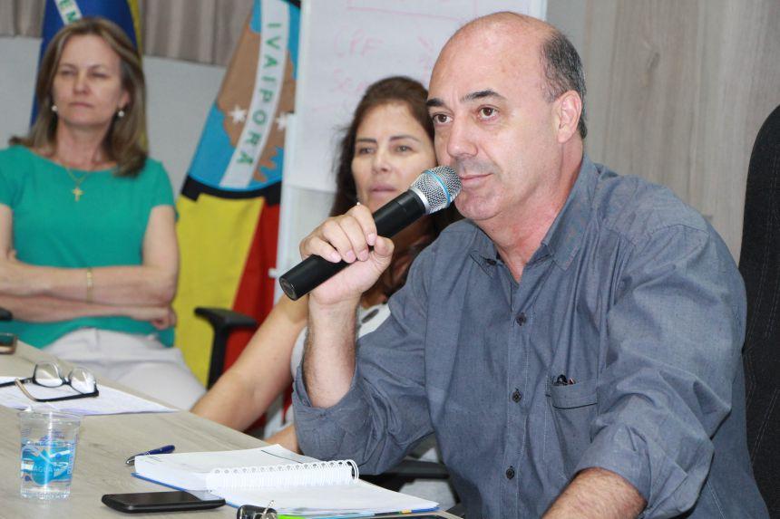 Miguel Amaral, prefeito de Ivaipor�