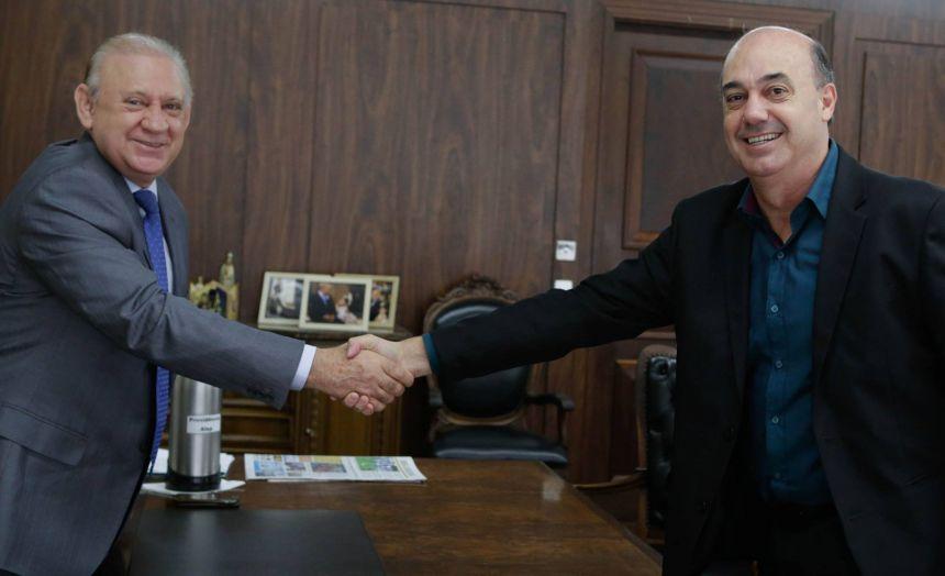 Miguel Amaral agradece ao presidente da Alep pelo apoio na liberação de recursos para construir Hospital Regional em Ivaiporã