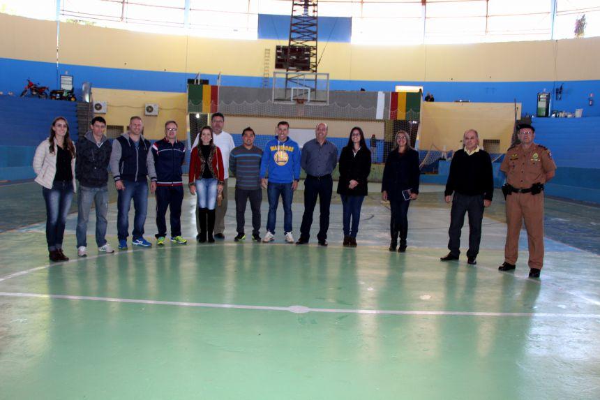 Prefeito Miguel Amaral, lideranças e organizadores dos Jojups visitam Sapecadão