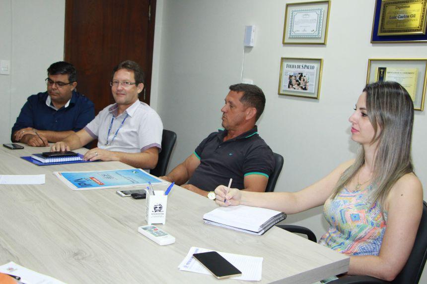 Jackson Martins, Gilberto Taborda, Ilson Gagliano e Gisele Martins