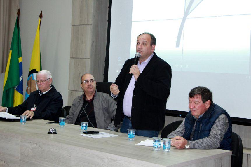 Prefeito do município de Quatro Pontes/PR, João Inácio Laufer, parabeniza gestão Miguel Amaral
