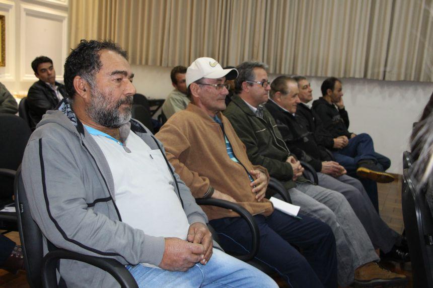 Lideranças e produtores são convidados para participar da reunião com os convidados e se inteirar sobre produção de fécula