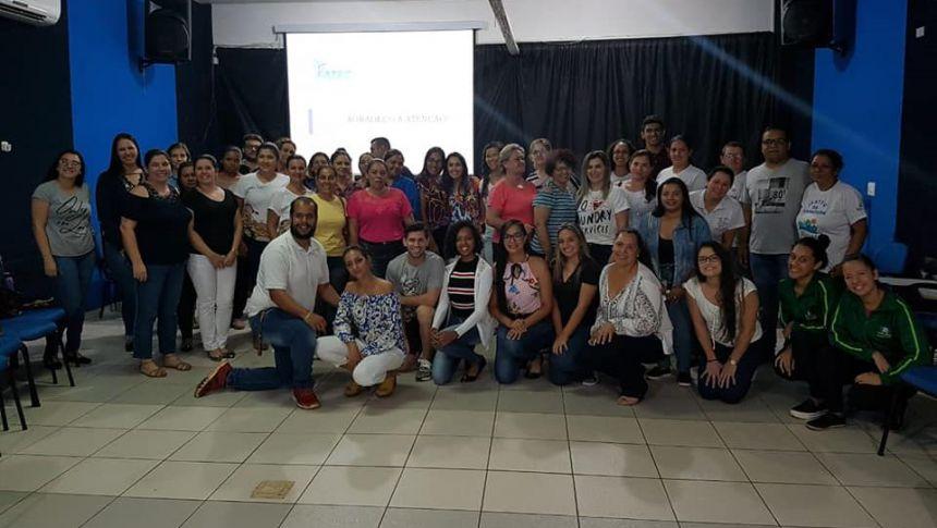 Servidores do Departamento Municipal de Assistência Social da Prefeitura de Ivaiporã passam por capacitação continuada
