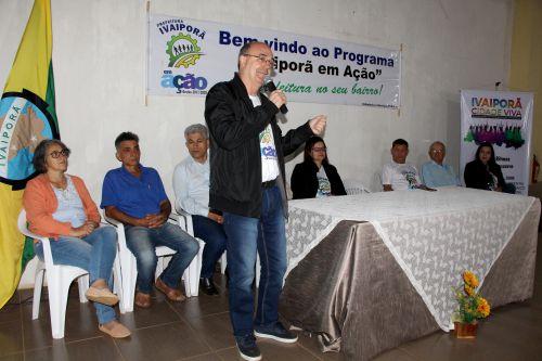 Prefeito Miguel Amaral defende importância da descentralização dos serviços em prol do Jacutinga