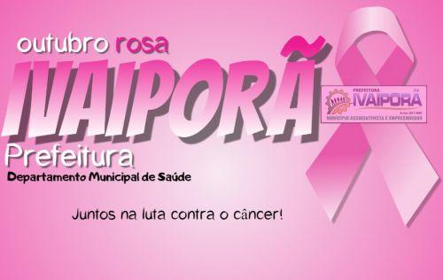 Prefeitura de Ivaiporã inicia campanha Outubro Rosa