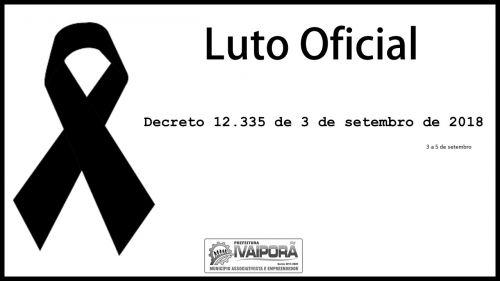 Prefeitura de Ivaiporã decreta luto oficial de 3 dias pela morte de 3 policiais militares