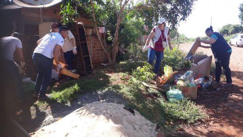 Prefeitura de Ivaiporã realiza mutirão de combate à dengue