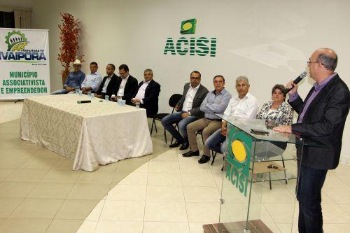 Miguel Amaral agradece aos membros da mesa de honra pela presença