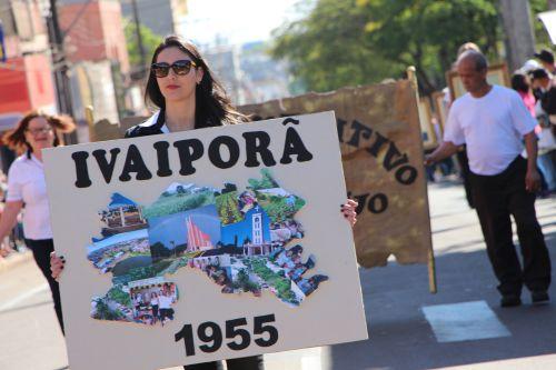História de Ivaiporã é destacada no Desfile Cívico