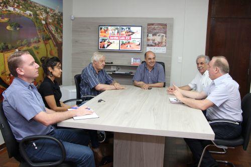 Mauro Merigue disse que um dos objetivos é pensar no desenvolvimento do município em parceria com a Prefeitura