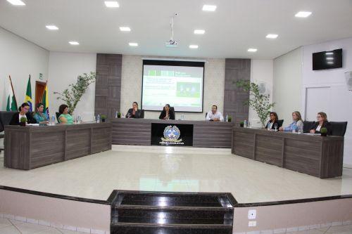 Audiência pública realizada na Câmara de Vereadores