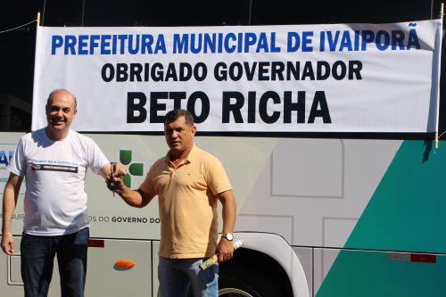 Miguel Amaral e Ilson Gagliano agradecem ao Governo do Estado pela parceria
