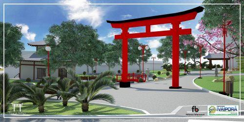 Prefeitura de Ivaiporã vai inaugurar Praça Japão dia 16 de agosto