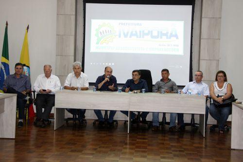 Secretário de Estado da Saúde visita obra do Hospital Regional de Ivaiporã a anuncia conquistas para unidades hospitalares